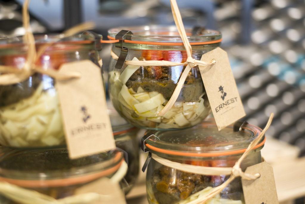 Ernest bocaux solution offre nourriture restauration take away simple