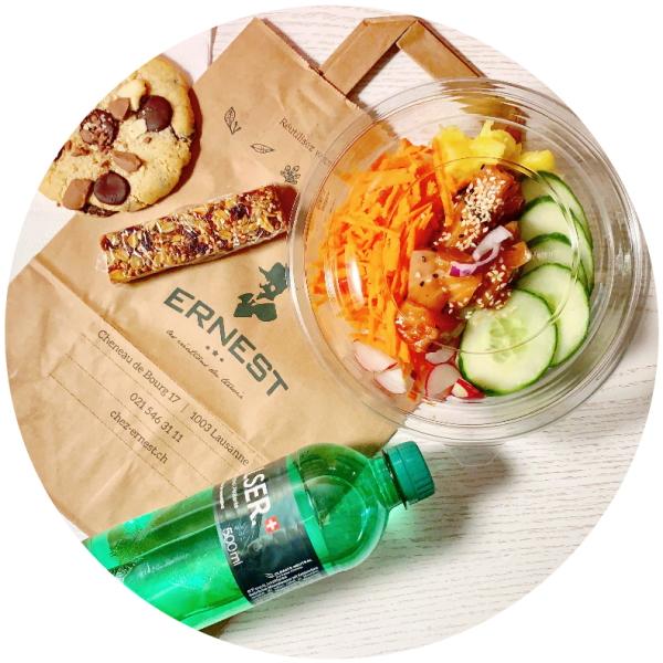 Lunch Bag Ernest Traiteur salades sandwiches